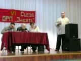 выступает делегат от ППО ,,Защита,, завод ,,Невинномысский Азот,,.